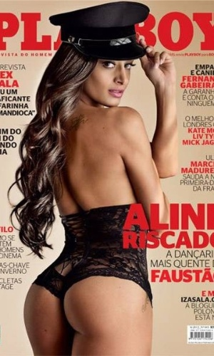 Aline Riscado &#233; a capa da Playboy deste m&#234;s