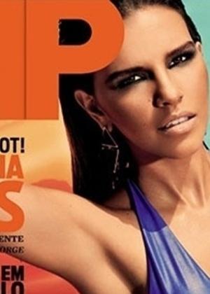 "Dez.2012 - A atriz e cantora Mariana Rios é a última capa da ""VIP"" no ano"
