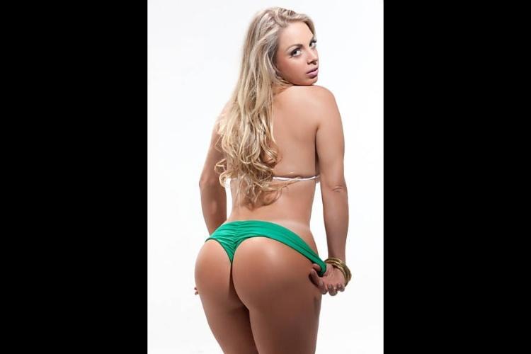 Jéssica Lopes, conhecida como a Peladona de Congonhas, candidata da Paraíba